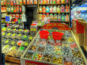 Photo of a sweetshop
