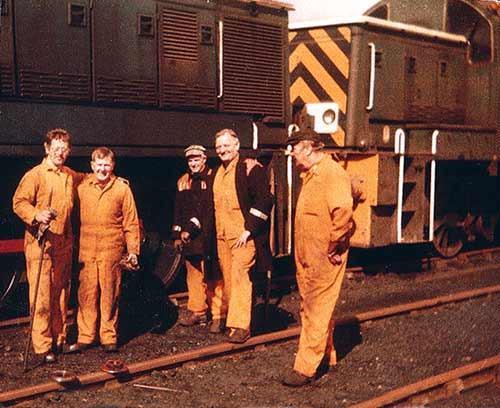 Miners at Burradon