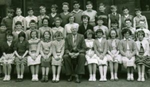 Photograph of pupils at Western Board School in 1959