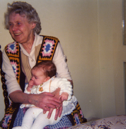 Photo of Great Aunt May 1976