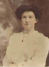 Photo of Jane Alice Shields about 1905