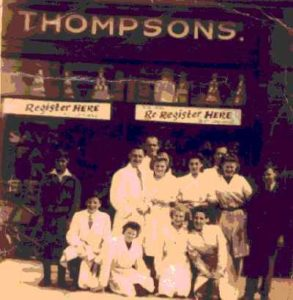 Photograph of Thompson Red Stamp Stores