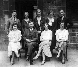Photograph of teachers at Murton School, New York, 1937
