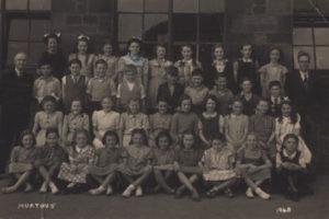Class photograph Murton Elementary School, 1948