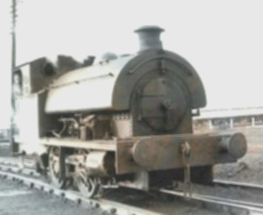 Photograph of the old tank engine