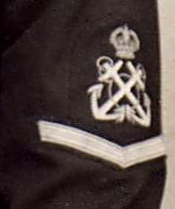 Photo of naval uniform badge