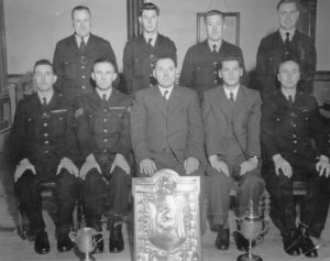 Photograph of Tynemouth Police First Aid Team, 1956
