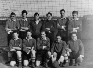 Photograph of Tynemouth Police Football Team, 1949