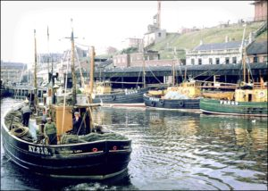 Photograph of North Shields Fishing Boats