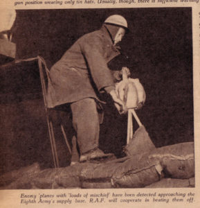 Photo of hand-cranked air raid siren