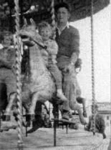 Photograph of Merry-Go-Round, Spanish City, 1959