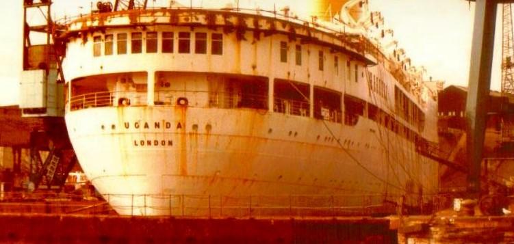 Ernest Storey remembers SS Uganda 1983