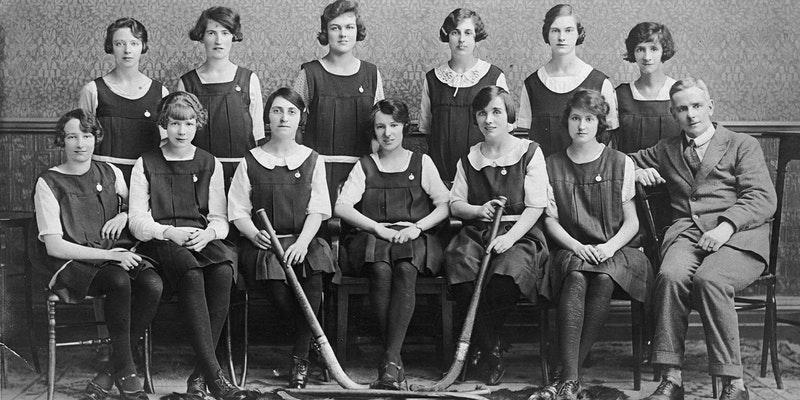 Girls' Hockey Team photo
